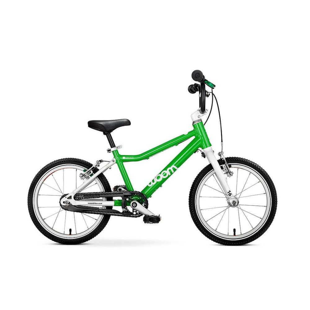 Woom 3 Bike Green